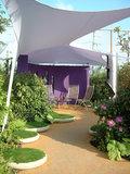 betonnen schaal in Floriadetuin 2012