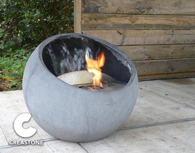 Design Feuerschale + Wasser