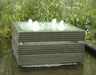 Wasserelement 70x70 cm