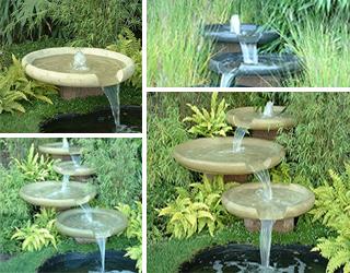 Wasserschalen selbst zusammenstellen